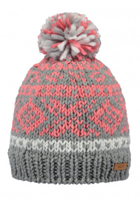Barts Log Cabin Beanie Kids heather grey